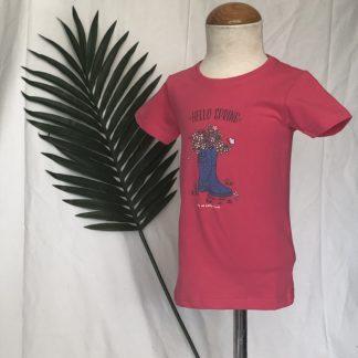 shirt laars met bloemen blue seven
