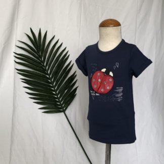 lieveheersbeestje shirt blue seven