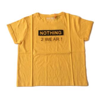 geel shirt
