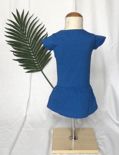 blauwe zomerjurk