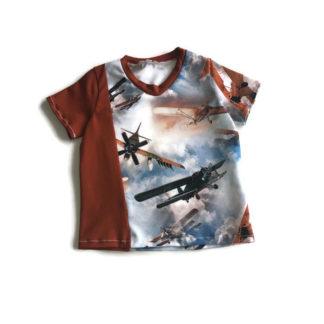 vliegtuigenshirt