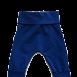koningsblauw baby broekje
