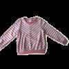 roze wit gestreepte trui