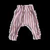 harem legging roze wit