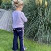 handgemaakte flared pants