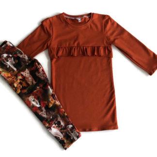 handgemaakte jurk