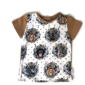 t-shirt wilde dieren