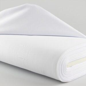 katoenen tricot wit