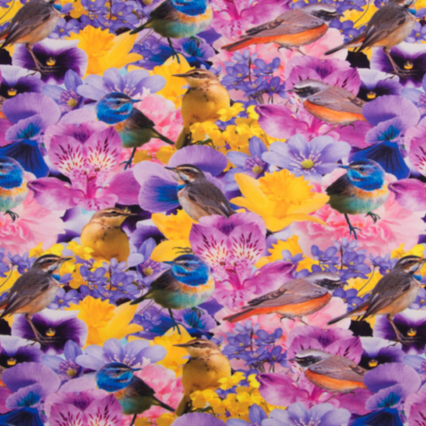 digitale tricot vogels