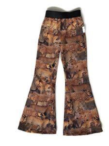flared legging panterprint