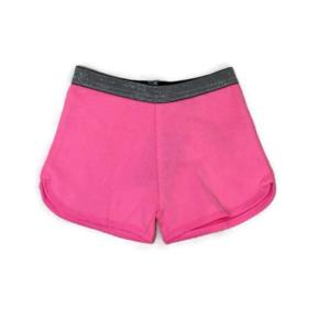 neon roze korte broek