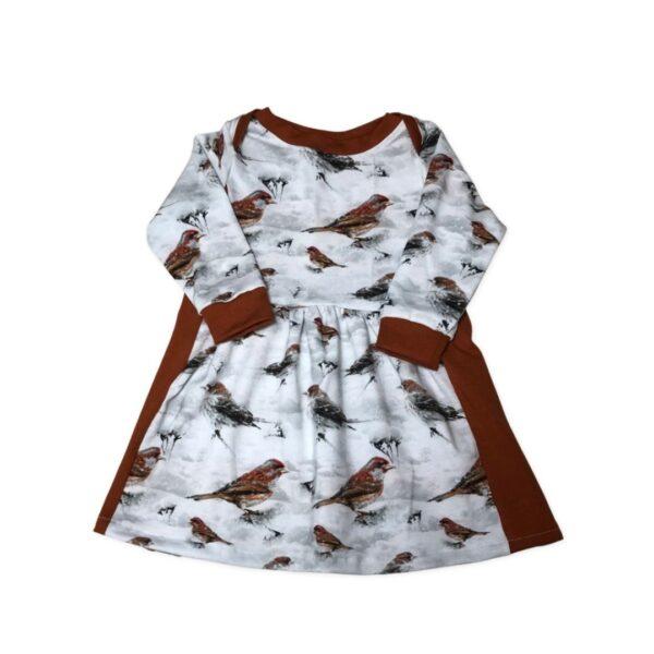 babyjurk met vogels