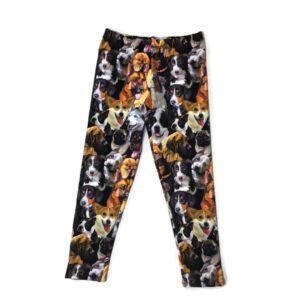 legging met print honden